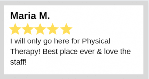 Precision Sports Physical Therapy review - Maria M.