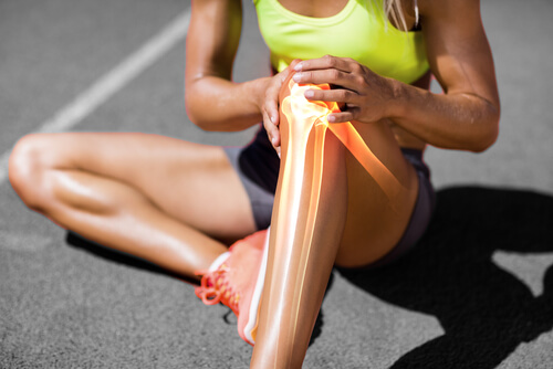 Knees are susceptible to injuries.