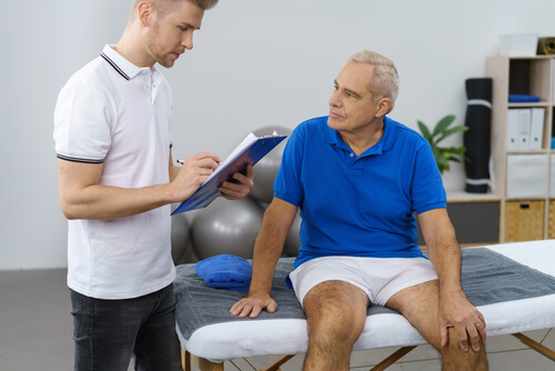 You initial visit to a physical therapy clinic will entail careful examination and assessment of your condition.